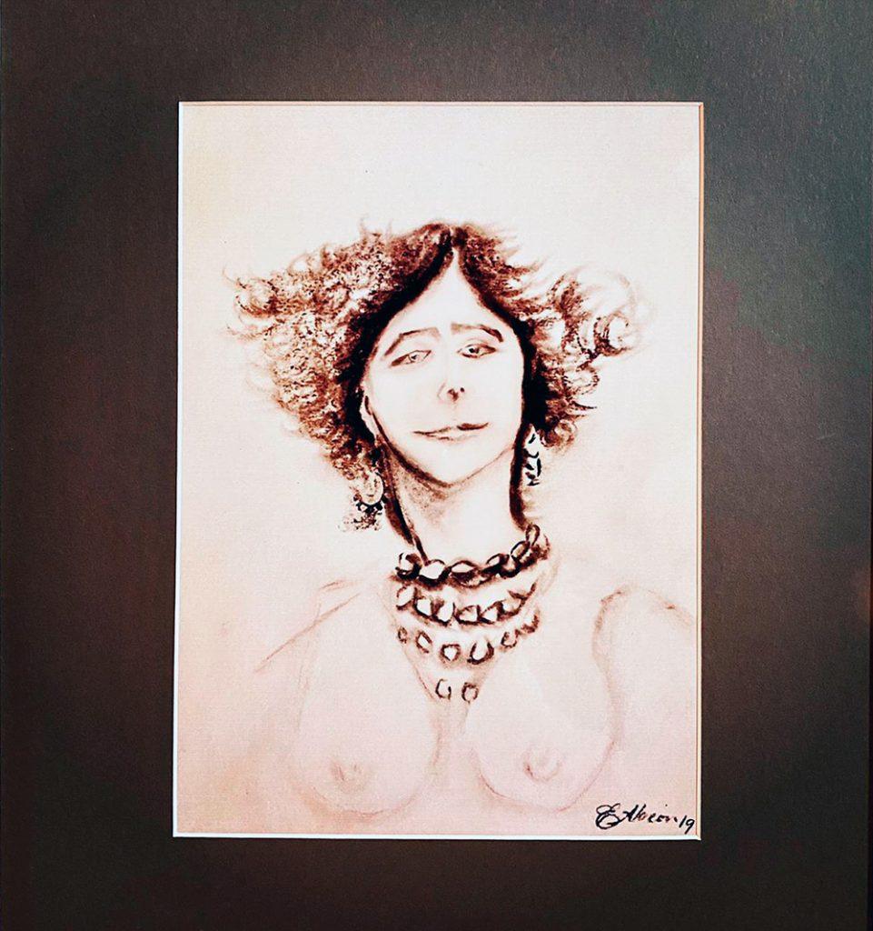 Eduardo Alarcón Orozco - Mujer de Principios del Siglo XIX