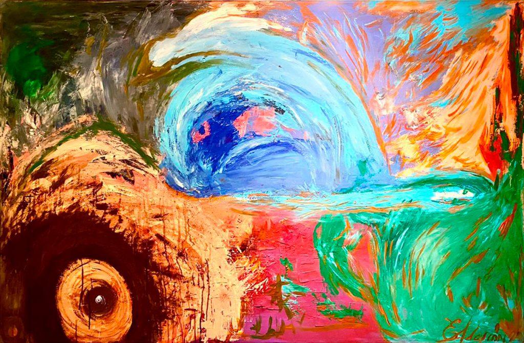 Eduardo Alarcón Orozco - Tono de columna, sangrado de colores, mezcla de los míos.